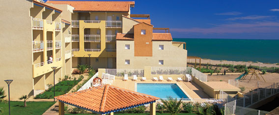 Affitto case vacanza al mare: residence Alizéa Beach a Cap d'Adge in Languedoc-Roussillon