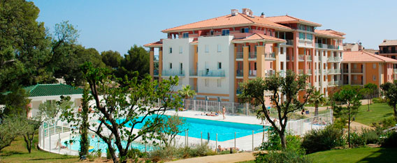 ... Holiday Rental Next To The Sea : Les Calanques Du Parc Residence At  Frejus Saint  ...
