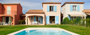 Holiday rental in residence with swimming pool : Coralia Vacances