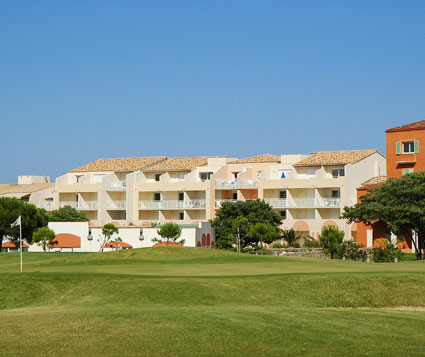 Affitto di residence vacanza in Languedoc-Roussillon a Cap d'Adge: residence Palmyra Golf