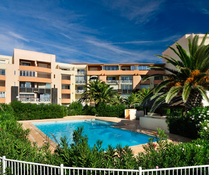 Affitto di residence vacanza in Languedoc-Roussillon a Cap d'Adge: residence Savanna Beach-Les Terrasses de Savanna