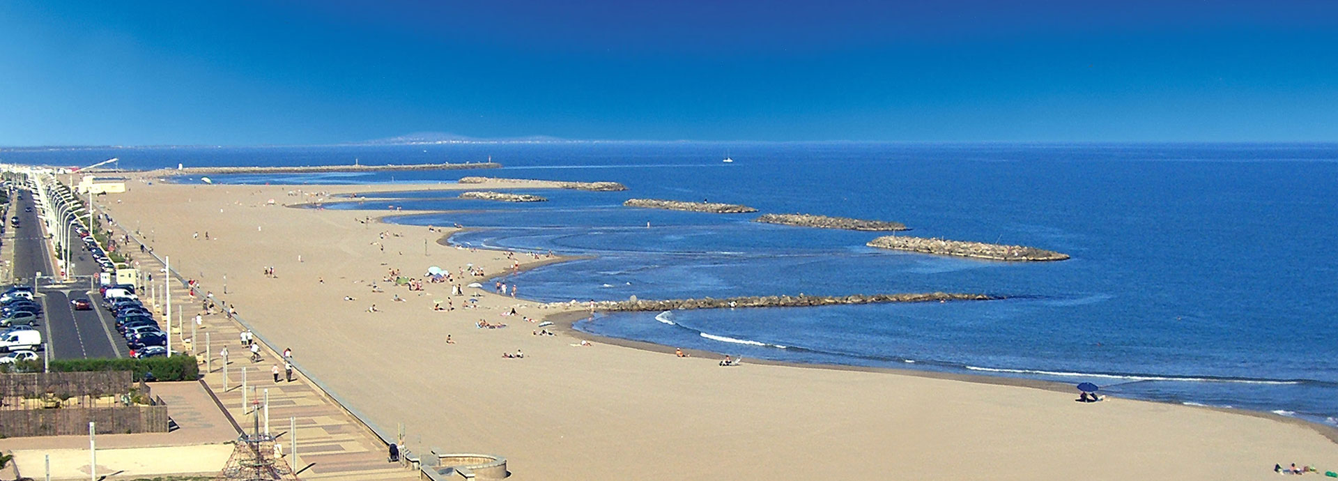 Valras plage en languedoc roussillon avec coralia vacances - Office du tourisme valras plage herault ...